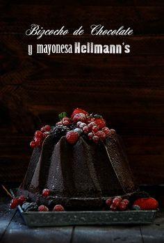 Cocina de Revista: BIZCOCHO DE CHOCOLATE CON MAYONESA