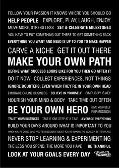 website with 10 awesome inspirational manifestos. Im hanging one in my office as we speak.