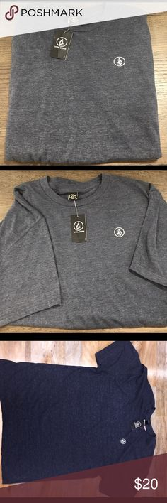 NWT Volcom Men's Grey T-shirt (Large) Volcom Men's Grey T-Shirt with tags. Never been worn. Super soft. Volcom Shirts Tees - Short Sleeve