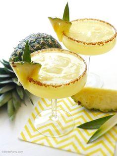 Recette Sangria à l'Ananas et au Rhum  ♥️ #epinglercpartager