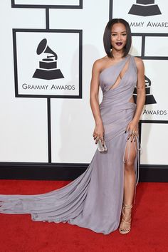 Actress Serayah McNeill attends The 58th GRAMMY Awards at Staples Center on February 15, 2016 in Los Angeles, California.