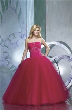 Ball Gown Strapless Floor-length Sweet 16  Style Code: 05683 $214