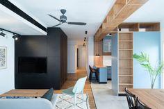 """In Tel Aviv hat das Architekturbüro Rust das """"Apartment No. 4"""" entworfen: Ein Refugium für Kinder und Eltern."""