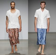Cold Method 2014 Spring Summer Mens Runway Collection - Amsterdam Fashion Week: Designer Denim Jeans Fashion: Season Collections, Runways, L...