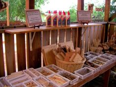 So many possibilities...what would you create with these natural materials? - A slideshow of experiences from the 2010 Hawkins Centers of Learning Gathering in Boulder, Colorado. ≈≈