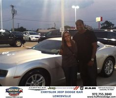 #HappyBirthday to Kimberly Ferrusca from Mark Gill at Huffines Chrysler Jeep Dodge Ram Lewisville!