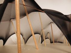 structures workshop / interior study / tensile / yr2