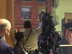 MCSO at the 12th Annual Domestic Violence Memorial Tree Ceremony.