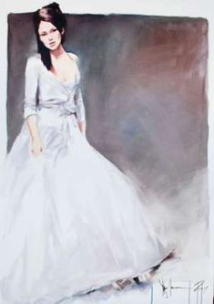 Igor Shulman Artwork / 2009 year Album / The Bride sm Anna Razumovskaya, Terry Redlin, Robert Duncan, She's A Lady, Various Artists, White Art, Beautiful Women, Bride, Painting