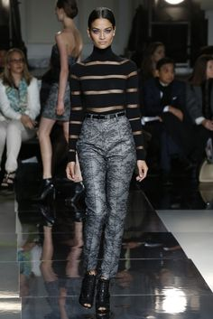 Jason Wu RTW Fall 2013 - Stripes & Prints! Slideshow - Runway, Fashion Week, Reviews and Slideshows - WWD.com
