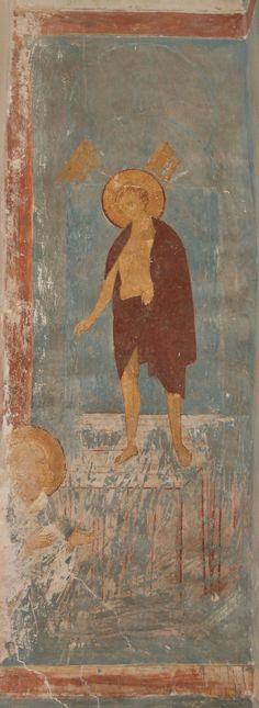 Видение Петром Александрийским Христа в разодранных одеждах  Разрез по южному продольному нефу. Вид на юг