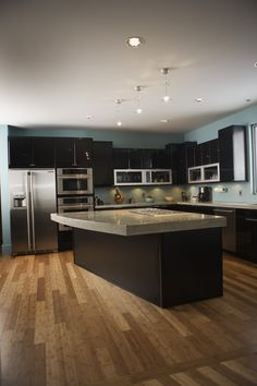 love the kitchen color and style, except more neutral wall color, Greige!