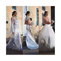 @Regrann from @wearfashionstyling -  Stunning wedding gowns by @annaromysh at @weddingbellsvalletta, bouquets by Alistar. #malta #models #gowns #beautiful #wedding #hautecouture #fashion #ootd #potd #follow #mfwa #2016 @supernovamodelmanagement #Regrann