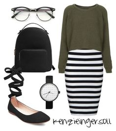 Modest Wear Source by leoniewiegel ideas modest Cute Modest Outfits, Modest Wear, Classy Outfits, Fall Outfits, Casual Outfits, Skirt Outfits, Striped Skirt Outfit, Stripe Dress, Apostolic Fashion