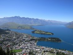Scenic view of Queenstown, New Zealand - part 2
