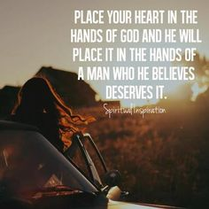 Place Your Heart In God's Hands# projectinspired