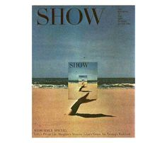 Show. Aug 1962. Designed by Henry Wolf
