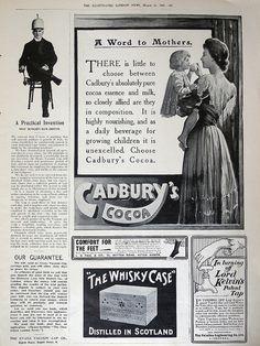 Ephemera: 1906 newspaper ads