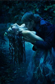 kissing at midnight in the forbidden forest