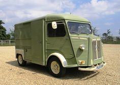Historics at Brooklands - Specialist Classic and Sports Car Auctioneers - Citroen H-Van. Sold Aug 2014