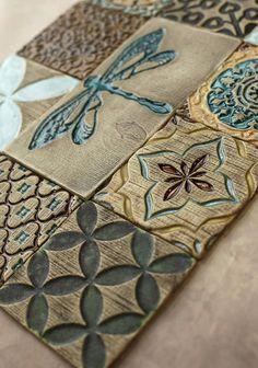 Handgefertigte Keramik rustikale bunten Fliesen für Küche/Bad
