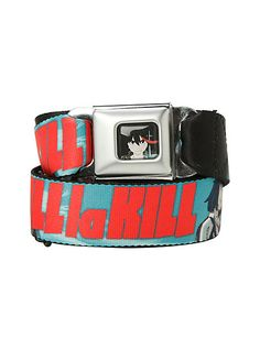Kill La Kill Seat Belt Belt | Hot Topic