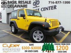 This 2015 Jeep Wrangler is listed on Carsforsale.com for $29,500 in Buffalo, NY. This vehicle includes Four Wheel Drive,Power Steering,ABS,4-Wheel Disc Brakes,Brake Assist,Conventional Spare Tire,Convertible Soft Top,Tow Hooks,Intermittent Wipers,Variable Speed Intermittent Wipers,Rollover Protection Bars,Fog Lamps,AM