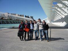 Con los chicos del MACOM en la Ciudad de las Artes y las Ciencias de Valencia en la presentación de la candidatura del Spain Team Bocuse D'or Europe 2012 de Bruselas