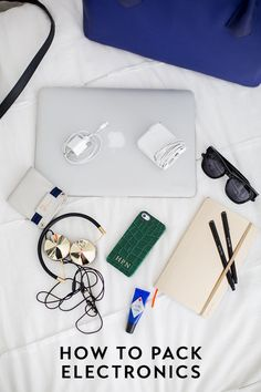 Travel Tip - How To Pack Electronics - Hitha On The Go