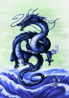 Dragon Chine, Orca Tattoo, Tiger Tattoo, Tattoo Ink, Sleeve Tattoos, Chinese Dragon Tattoos, Chinese Dragon Art, Fu Dog, Year Of The Dragon
