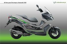 Test-drive, contacto e convívio com a Kawasaki J300