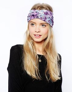 Limited Edition Double Knot Floral Hair Turban #Asos