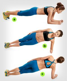 Rolling Plank | 7 Ways to Make Planks Harder http://www.womenshealthmag.com/fitness/plank-exercise