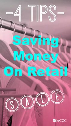 Want to save some cash on clothes shopping? Try some of these tips to save money on retail and help reduce credit card debt.