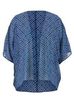 plus size chiffon kimono in diamond pattern (original price, $36) available at #Maurices