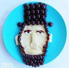 President's Day Abraham Lincoln Pancakes