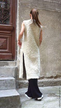 Купить Пальто кардиган Ivory Wool - кардиган, пальто букле, букле, бежевый букле