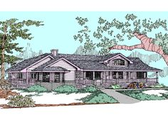 Contemporary House Plan Front of Home Plan 085D-0824 | House Plans and More