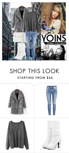 """""""Contest Yoins"""" by aida-1999 ❤ liked on Polyvore featuring H&M and Versace"""