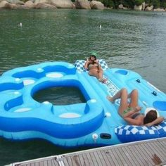 Big Lake Float...I would love this