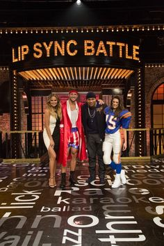 Chrissy Tiegen, Tim Tebow, LL Cool J and Nina Dobrev on Spike TV's 'Lip Sync Battle'