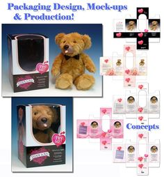 Packaging Designs & Plush Bear Packaging Sample-WEB