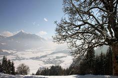Flachautal vom Aigenberg aus augenommen  Flachau valley - picture taken from Aigenberg