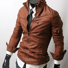 Handmade Men leather Jacket Men biker leather by WalletLeather, $ ...