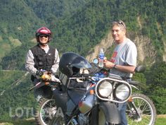 The northwest vietnam tours is arranged for active adventure riders seeking the beauty of wild nature in the north eastern Vietnam. Begin the bike tour from Hanoi, you ride through Lang Son, Cao Bang province, and then to Ba Be National park before taking your motorcycle trip back to Hanoi. Taking this 5-day motorbike tour, you have the opportunity to ride on the RC 4, to spend a night at local home (homestay), to discover the