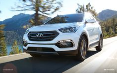 The new Tucson and Santa Fe SUVs are two highly anticipated vehicles from Hyundai this year. Learn about the differences between the 2019 Hyundai Tucson vs the 2019 Hyundai Santa Fe here at Apple Valley Hyundai. Hyundai Models, Hyundai Cars, Hyundai Vehicles, Carros Hyundai, Cadillac, Santa Fe Suv, New Hyundai Santa Fe, Hyundai Dealership, Porsche 2017