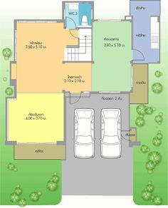แปลนบ้าน ชั้นล่าง home-design-plan-interior-d3-7