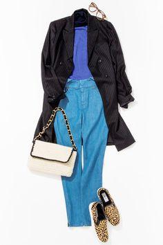 今週はルミネ新宿のショップから、ジャケットでつくる秋スタイルを学びます。ピンストライプのロングジャケットとブルーのコーデでスマートガールに! 人気スタイリスト田沼智美さんがシンプルでかわいいをテーマに、毎日のコーディネートに役立つアドバイスをお伝えします。