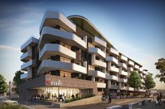 Tip Top, Brunswick by Rothe Lowman Architects. 3D visualisation by Scharp…