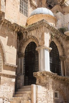 *STATION 10-14 ~ are located inside the Church of the Holy Sepulchre.